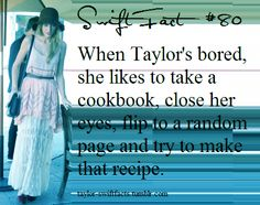"taylor swift facts-critics say Deana does too much cooking in ""Deal"". I say no way. www.adealwithGodbook.com"