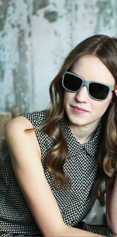 Gray Wood Sunglasses #womensfashion #sunglasses #style