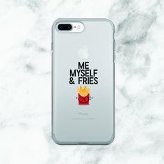 Me, Myself and Fries iPhone Case www.gigibunboutique.etsy.com
