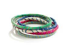 striped bangles ... now we're talking :)