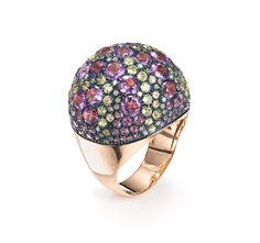 Nuit ring, a starry night on your finger