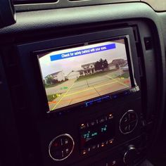 Back up camera added to Project Decepticon.  My 2011 Chevy Suburban