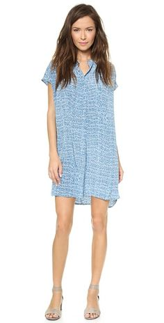 Vince Static Print Dress | SHOPBOP