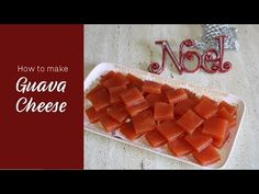 Goan Peraad recipe, How to Make Guava Cheese, Goan Perad, Kuswar recipes Guava Recipes, Guava Jelly, Stove Oven, Complete Recipe, Christmas Sweets, How To Make Cheese, Indian Food Recipes, Waffles, Deserts