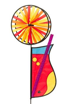 Perfect Details zu Windrad HQ Magic Wheel Duett Cocktail Windspiel Dekoration Garten NEU