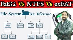File System Explained? Big Difference Between Fat32 vs NTFS vs exFAT ???