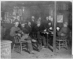 Beaton saloon interior  VPL Accession Number: 3220  Date: 1898  Photographer / Studio: Gunterman, Ida Madeline Warner (Mattie)