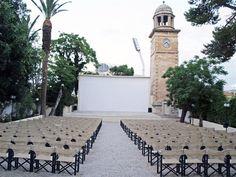 Σινε Χανια Outdoor Cinema, Under The Stars, San Francisco Ferry, Athens, Building, Summer, Travel, Summer Time, Viajes