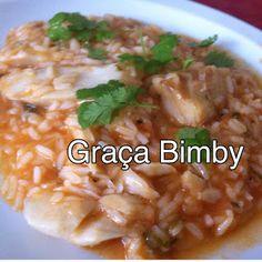 Bimby Truques & Dicas: Arroz de Bacalhau