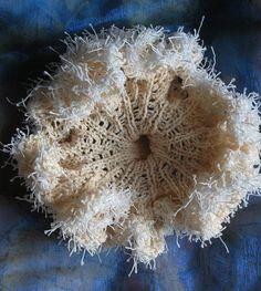 Beautiful work of Anita Bruce. Textile Sculpture, Textile Art, Knit Art, Small Sculptures, Body Adornment, Yarn Bombing, Fabric Textures, Crochet Yarn, Love Art