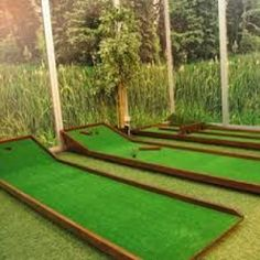 Golf Putting Green, Outdoor Games For Kids, Engineering Projects, Game Design, Entertaining, Pallets, Carnival, Image, Mini
