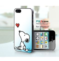 iPhone 5 Case Snoopy iPhone 5 case Cartoon iPhone case by PIX2case, $9.99