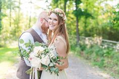 Amanda and Ron's Rustic Outdoor Handmade Canadian Wedding by Laura Kelly Photography - B...