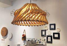 Organelle Design's Repurposed Hanger 'Hangelier' Lamps Shine at Model Citizens NY Design Week Show