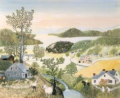 A Beautiful World, 1948, Grandma Moses