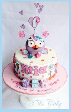 Hootabelle - by sweettandcake @ CakesDecor.com - cake decorating website
