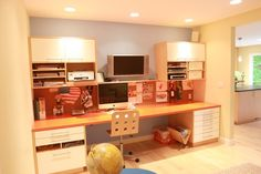 Home Office Ikea Cabinets Design, Pictures, Remodel, Decor and Ideas - page 6