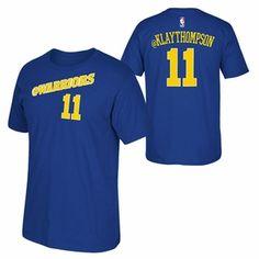 Golden State Warriors adidas 2015 Klay Thompson Social Media Tee - Blue