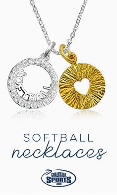 Livia Collection Sterling Silver and 14K Gold Vermeil Softball Girl Triumph Necklace