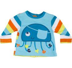 Boys Long Sleeve T-shirt - Tuc Tuc Jellyfish www.kidsandchic.com/boys-long-sleeve-t-shirt-tuc-tuc-jellyfish.html  #tuctuc #boysclothing #boysshirt #boysfashion #tshirt #kidsfashion #kidsclothing #trendychildren #babyclothes #babyfashion #baby #toddlerclothes #shoponline #shoppingbarcelona #boys #ss2014 #spring #camiseta #camisetaniño ##ropaniños #ropabebe #niño #детскаяодежда #детскаямода #мальчик #подарки #детскаяфутболка