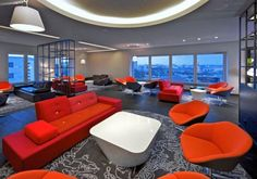 Luxury Andel's Hotel in Berlin-Germany, the Interior fashion and colour idea was finished by British architects and interior designers Jestico + Whiles