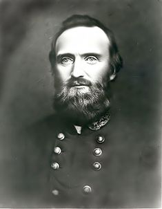 """Thomas Jonathan """"Stonewall"""" Jackson (January 1824 – May was a Confederate general during the American Civil War, and probably the best-known Confederate commander. Confederate States Of America, America Civil War, Battle Of Chancellorsville, Stonewall Jackson, Southern Heritage, Civil War Photos, Interesting History, Military History, Old Pictures"""