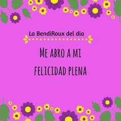 #RouxBalboa  #coaching #reflexion #sonriealavida  #labendiciondehoy #labendiciondeldia #afirma