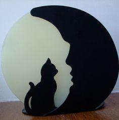 Stock - Cat Moon Silhouette by sabbat-circle on DeviantArt