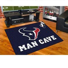 """Houston Texans Man Cave All Star Area Rug Floor Mat 34"""" X 45"""""""