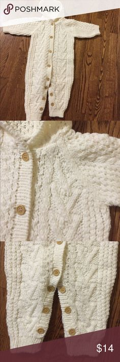 Fist Impression Knitted Coat Warm size 12 months (22-25 lbs) good conditions coat. First Impressions Jackets & Coats
