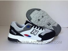 size 40 bfba2 157fe Hot New Balance 1600 Men White Black