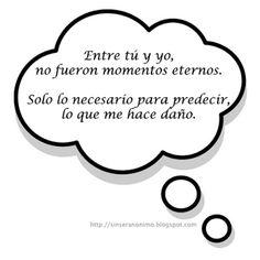SinSerAnonimo.blogspot.com: Pensamientos 142