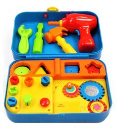 Kidoozie Cool Toys Tool Set - Teaches Important Developmental Skills - Includes Audio Responses to Encourage Learning - Ages 3 and Up