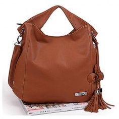 $9.66 New Arrival Brown Zipper Design One-Shoulder Bag/Handbag For Female