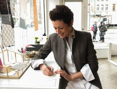 Upon walking into Garance Doré's Open Studio, a pop-up shop at 168 Bowery, your first impression is—to steal a phrase from the great French painter Henri Matisse—of luxe, c...