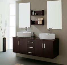 The Milano III Is A Modern Bathroom Vanity Set That Embraces The Latest  Trend In Luxury Modern Bathroom Design.