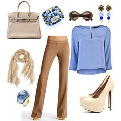 if I could wake up and look put together I would dress like this!