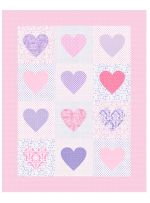 I Heart Paris by Susan Emory I like this quilt design! Pillow Fabric, Quilted Pillow, Pink Quilts, Baby Quilts, Paris Quilt, Art Gallery Fabrics, Small Quilts, Free Sewing, Quilt Patterns