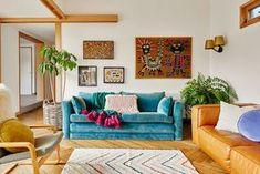 light + bright living room