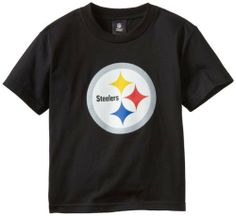 NFL Pittsburgh Steelers Youth 8-20 Short Sleeve T-Shirt Primary Logo, Medium, Black by NFL. $9.39. Show that the littlest member of the family is a die-hard Pittsburgh Steelers fan with this Pittsburgh Steelers Youth NFL Primary logo T-Shirt. Made by adidas, this Pittsburgh Steelers t-shirt features a large screen print graphic of your favorite team's logo up front for all to see. Your little sports fanatic will be the team's number one fan while wearing this piece ...