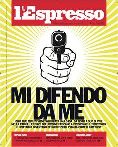La copertina dell'Espresso in edicola da venerdì 7 marzo