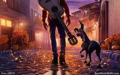 Check out this #Miguel and #Dante from #Pixar's #Coco incredible #wallpaper from the Onesheet poster :]