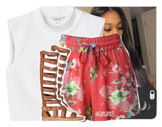 """""""feelin like floyd in all this may weather"""" by lamamig ❤ liked on Polyvore featuring Monki, Casetify, LE3NO and Qupid"""