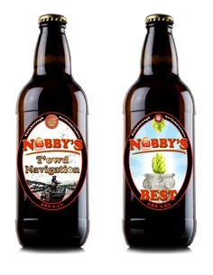 My local in Guilsborough - Nobby's micro-brewery. Mighty fine tipple.
