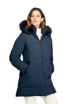 d6240a038c064 Women s Petite Stretch Long Down Coat Coats For Women
