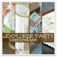 Explorer Party Inspiration | World Explorer Birthday Party Ideas