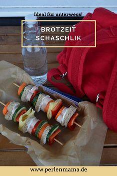 Der Praktische Snack für Unterwegs - Das Brotzeit Schaschlik – Perlenmama