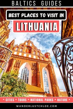 From exploring quirky capital Vilnius, and enjoying the local cuisine, to visiting the beautiful Trakai Castle, these are the best places to visit in Lithuania. Lithuania Travel, Poland Travel, Italy Travel, Travel Route, Travel Usa, Hawaii Travel, Best Places To Travel, Cool Places To Visit, Travel Europe Cheap