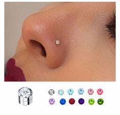 3 mm Magnetic Fake Nose, Ear, Monroe Stud