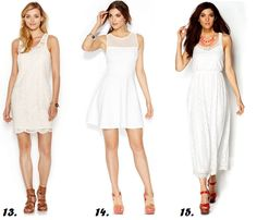 Shapely Chic Sheri - White Party: 18 Plus-Sized White Dresses ...